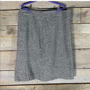 GAP wool lined skirt